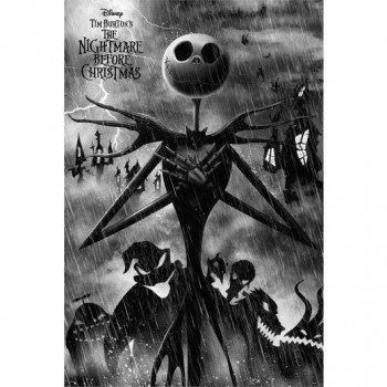 Póster Jack Esqueleton Pesadilla antes de Navidad Disney