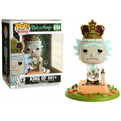 Funko POP Rick King of $ w/Sound 694 Rick and Morty